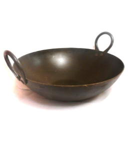 Black Iron Karahi [Indian Kadai] | Buy Online at The Asian Cookshop.